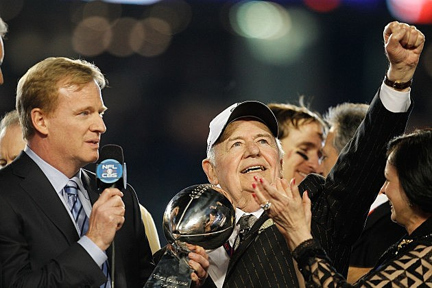 Tom Benson & Roger Goodell