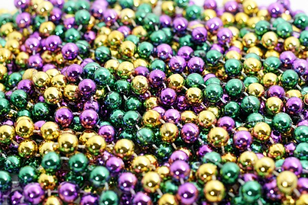 what do the three mardi gras colors green purple and