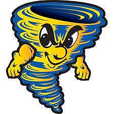 Sulphur Tornado mascot