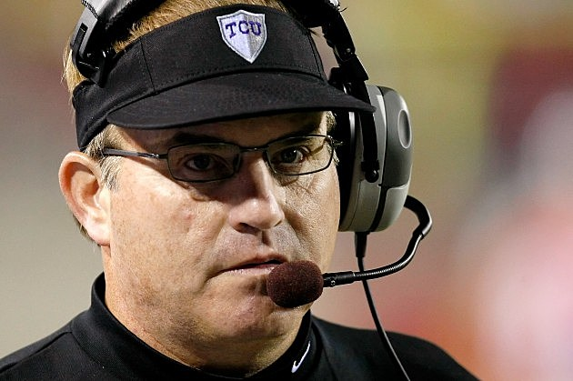 Gary Patterson TCU Head Coach