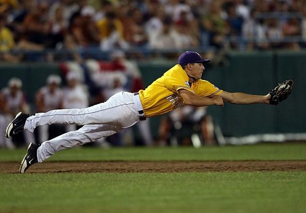 Lsu Baseball Drops  Top Spot  Polls