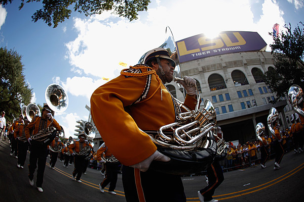 Lsu Tiger Band's First March